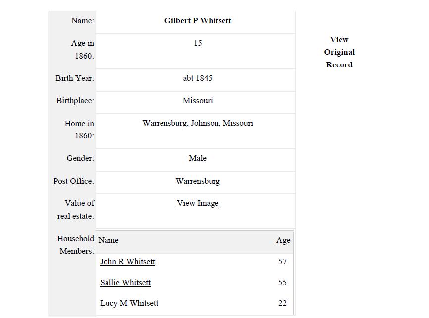 GP Whitsett