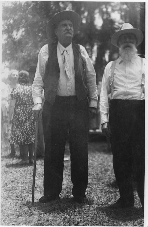 Jesse James aka James L. Courtney & James Simeon 'Sim' Whitsett