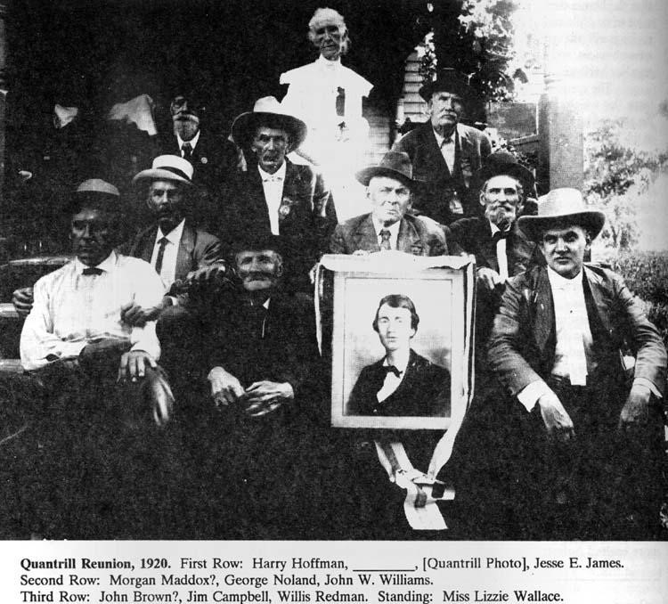 Quantrill reunion 1920