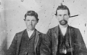 Lost photo of Jesse James & Robert Ford